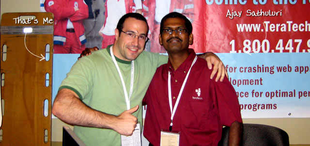 Ben Nadel at CFUNITED 2009 (Lansdowne, VA) with: Ajay Sathuluri