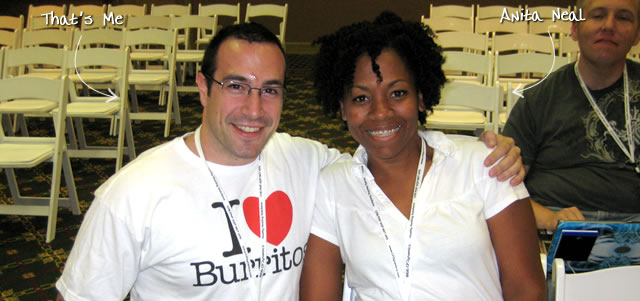 Ben Nadel at CFUNITED 2009 (Lansdowne, VA) with: Anita Neal