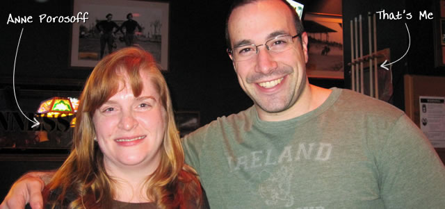 Ben Nadel at cf.Objective() 2010 (Minneapolis, MN) with: Anne Porosoff