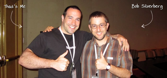 Ben Nadel at CFUNITED 2010 (Landsdown, VA) with: Bob Silverberg