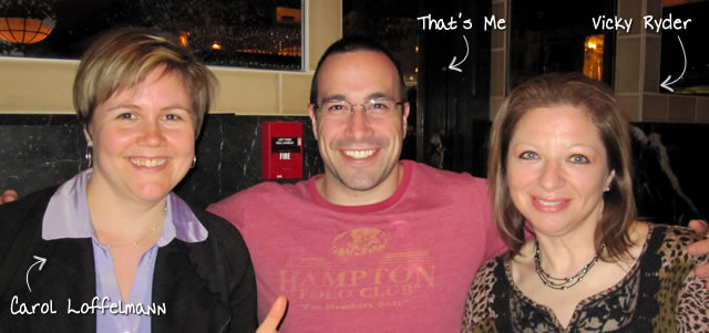 Ben Nadel at RIA Unleashed (Nov. 2010) with: Carol Loffelmann and Vicky Ryder