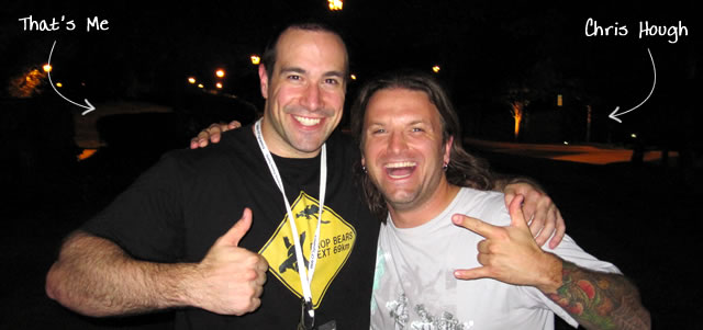 Ben Nadel at CFUNITED 2010 (Landsdown, VA) with: Chris Hough