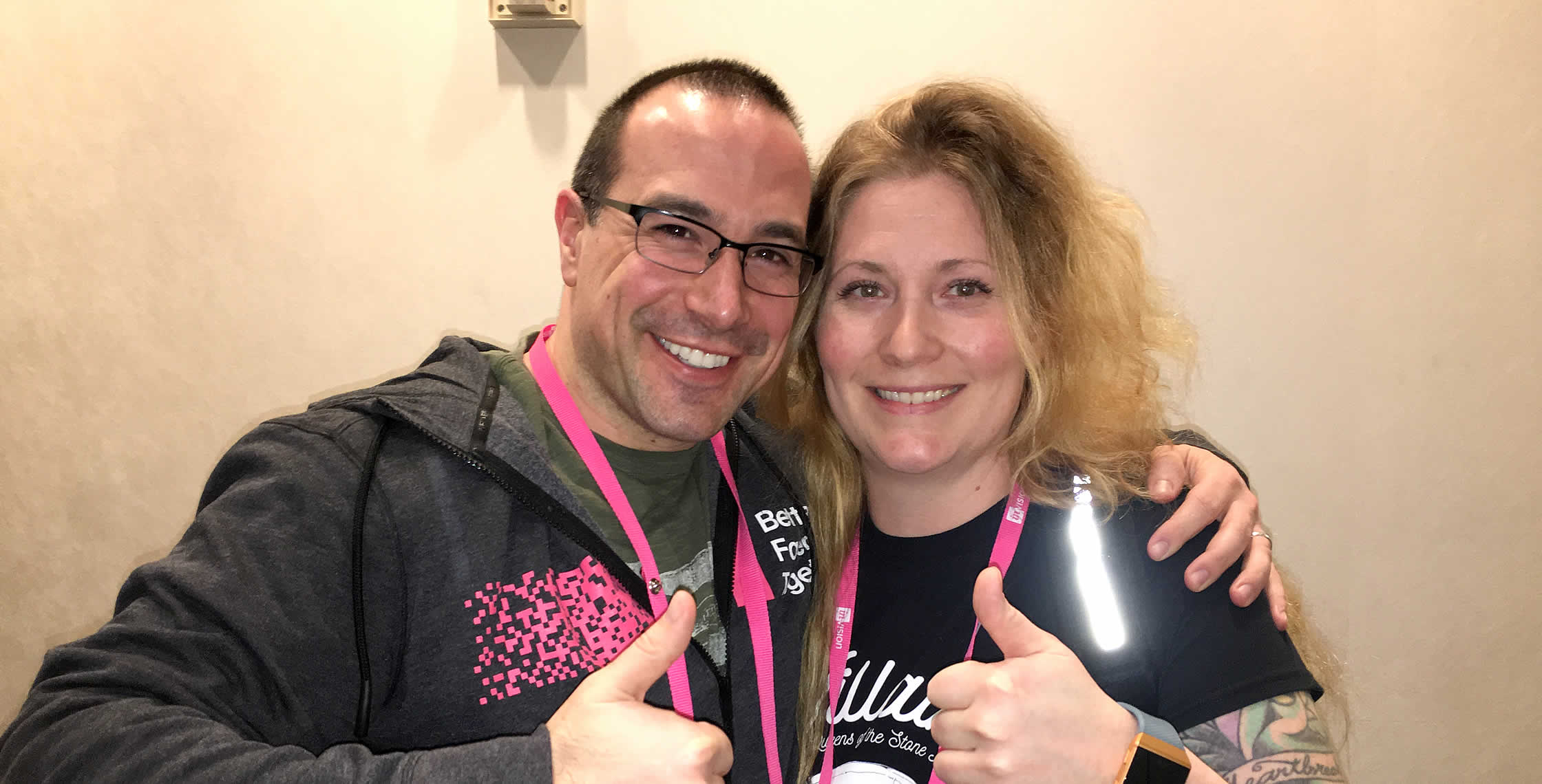 Ben Nadel at InVision In Real Life (IRL) 2018 (Hollywood, CA) with: Dana Lawson