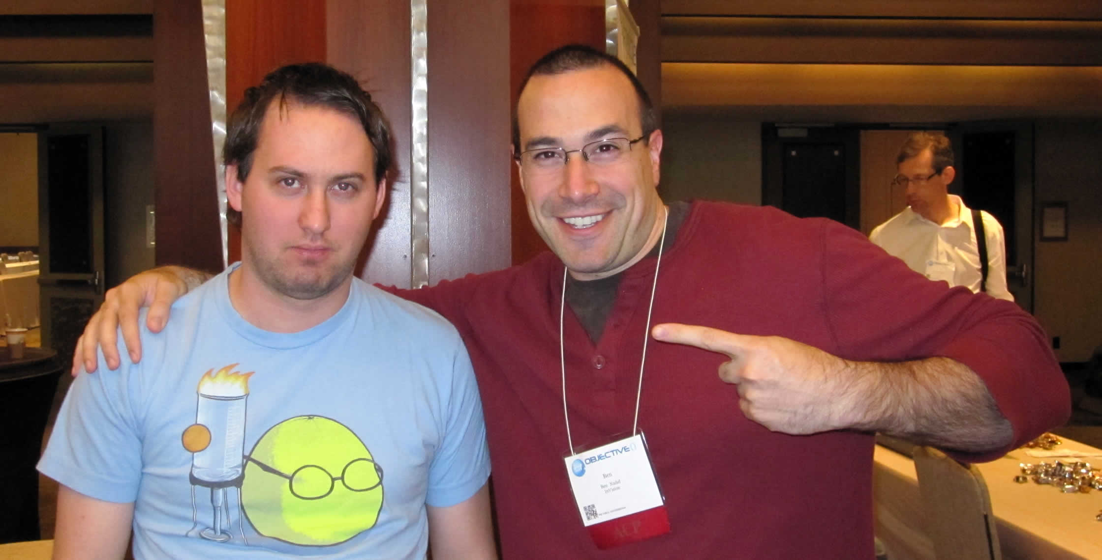 Ben Nadel at cf.Objective() 2012 (Minneapolis, MN) with: Daniel Heighton