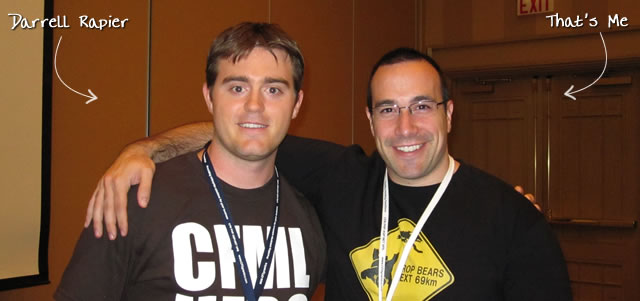 Ben Nadel at CFUNITED 2010 (Landsdown, VA) with: Darrell Rapier