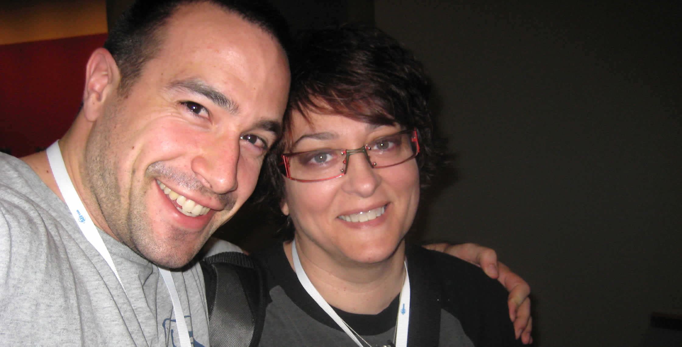 Ben Nadel at CFUNITED 2008 (Washington, D.C.) with: Dee Sadler