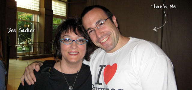 Ben Nadel at CFUNITED 2009 (Lansdowne, VA) with: Dee Sadler