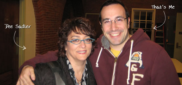 Ben Nadel at RIA Unleashed (Nov. 2009) with: Dee Sadler