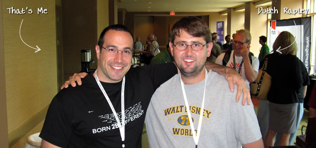 Ben Nadel at CFUNITED 2010 (Landsdown, VA) with: Dutch Rapley