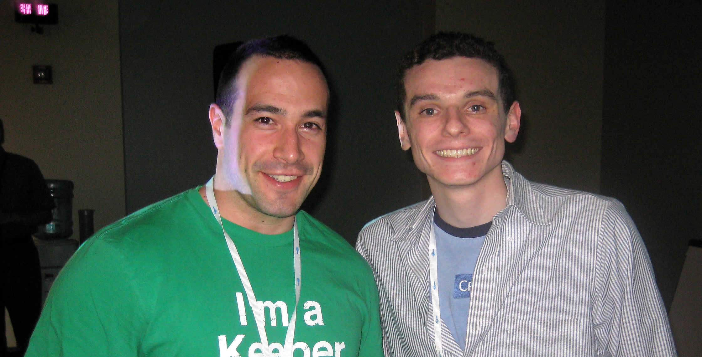 Ben Nadel at CFUNITED 2008 (Washington, D.C.) with: Elliott Sprehn