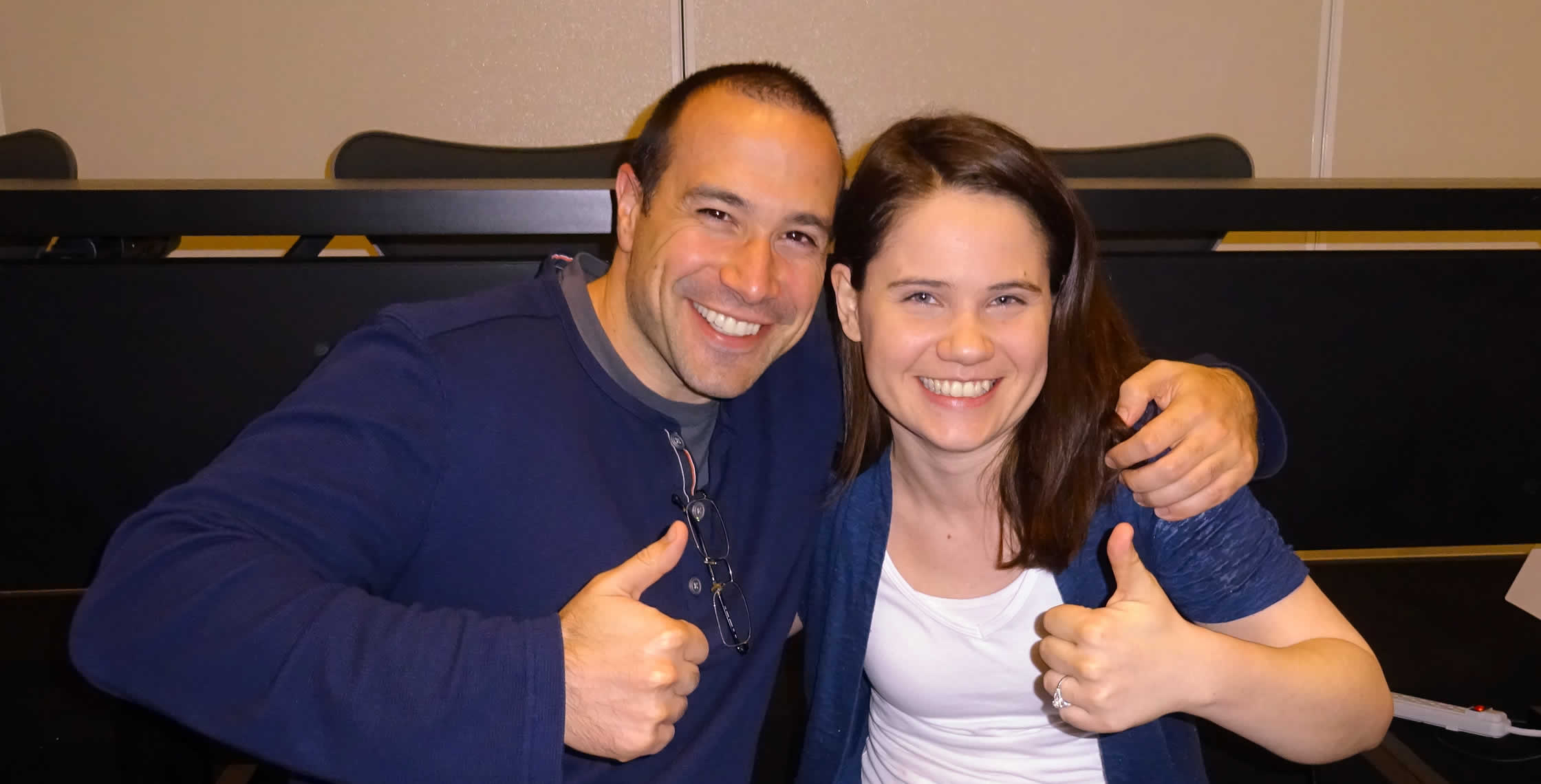 Ben Nadel at cf.Objective() 2014 (Bloomington, MN) with: Emily Christiansen