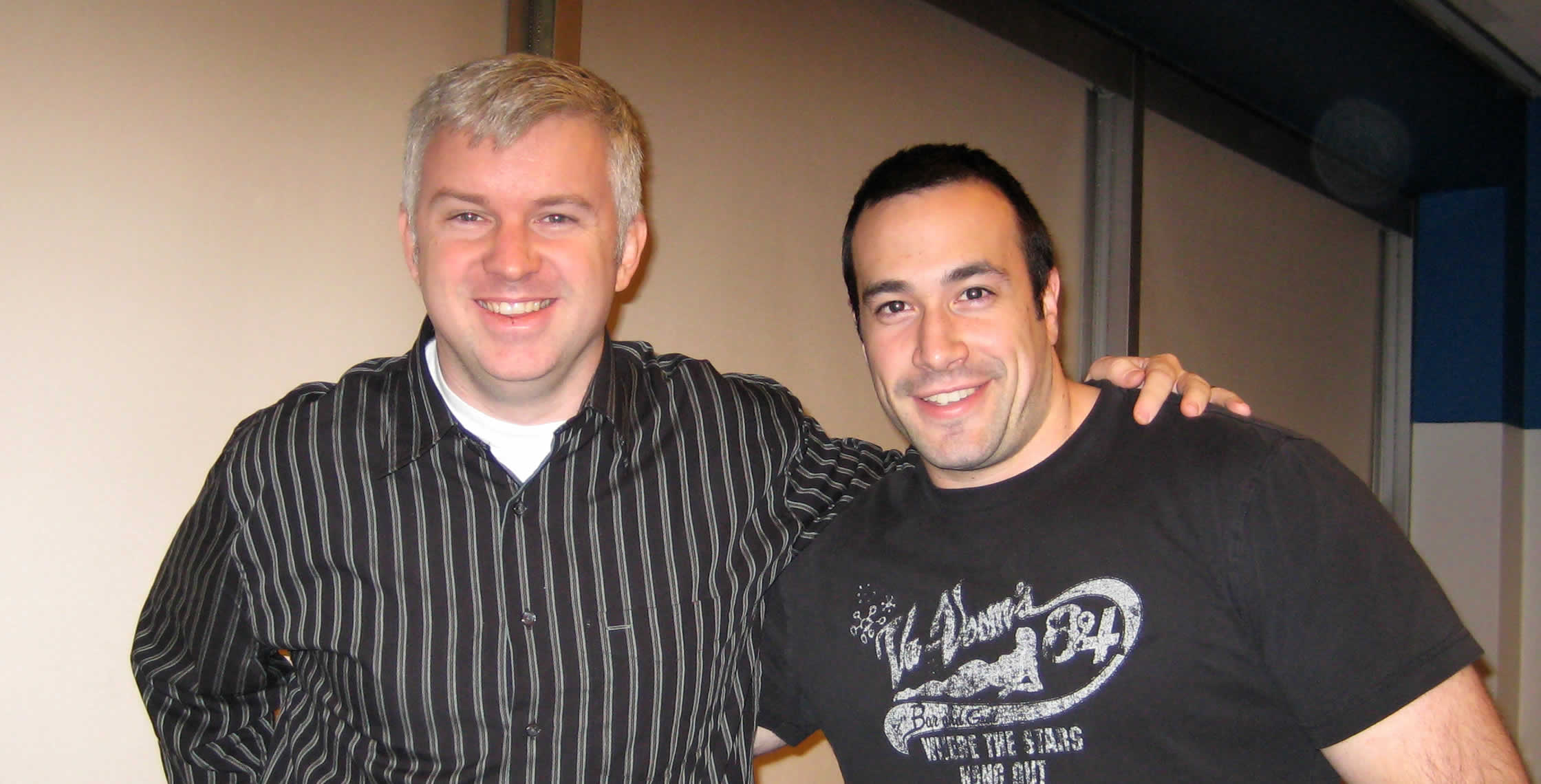 Ben Nadel at the New York ColdFusion User Group (Feb. 2008) with: Jack Welde