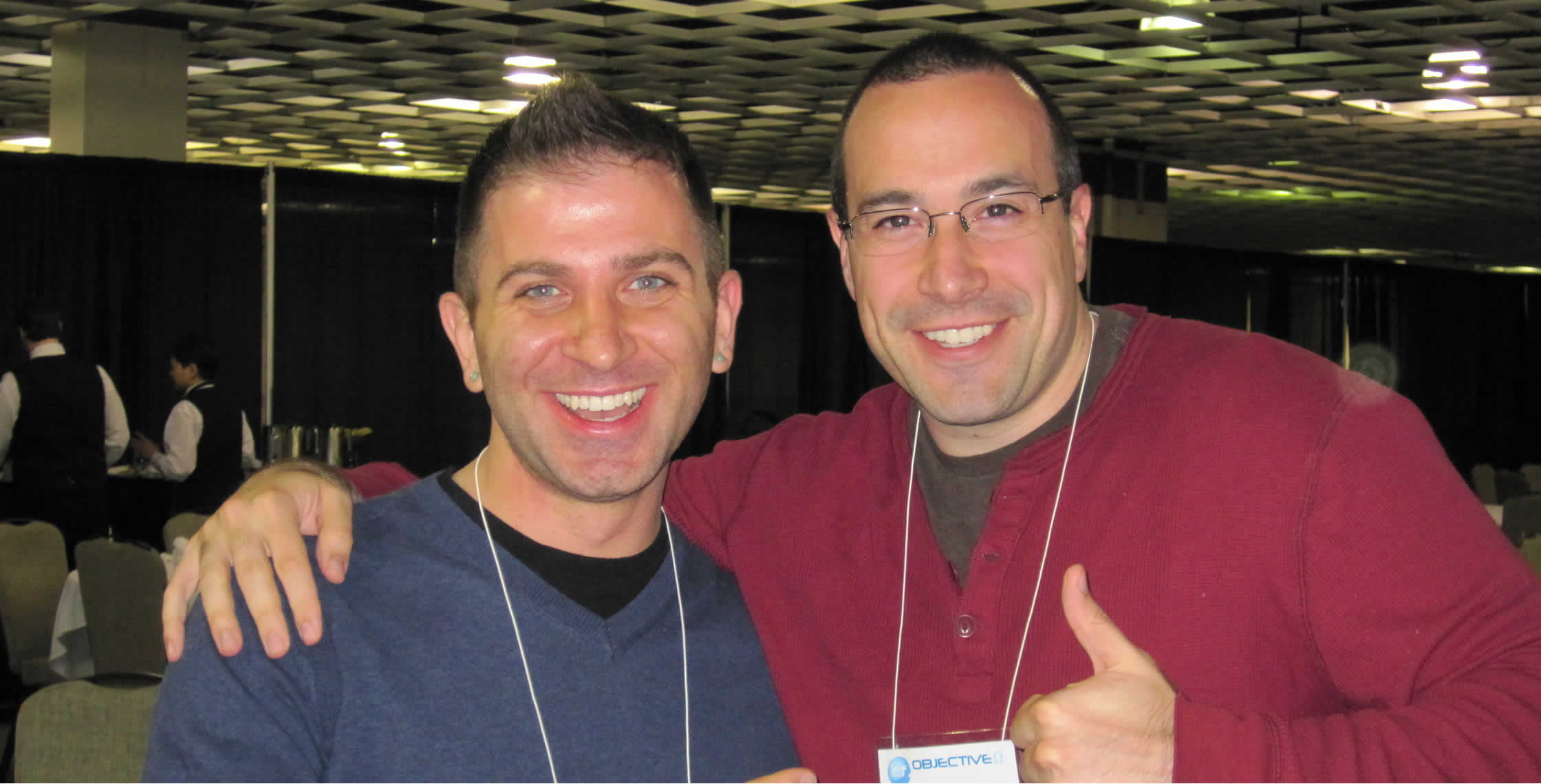 Ben Nadel at cf.Objective() 2012 (Minneapolis, MN) with: Jason Seminara