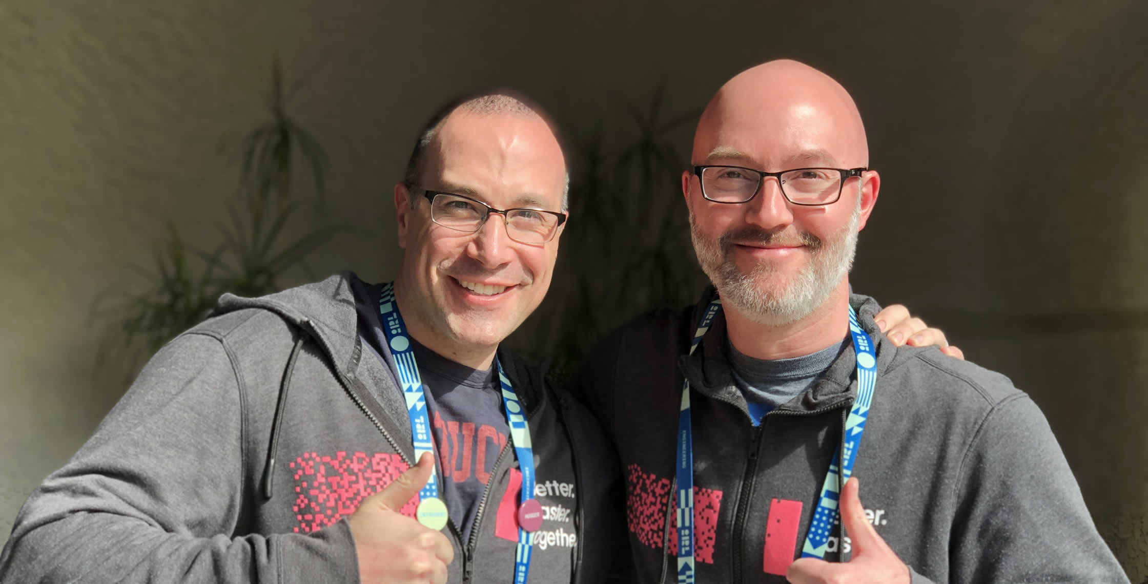 Ben Nadel at InVision In Real Life (IRL) 2019 (Phoenix, AZ) with: Josh Barber