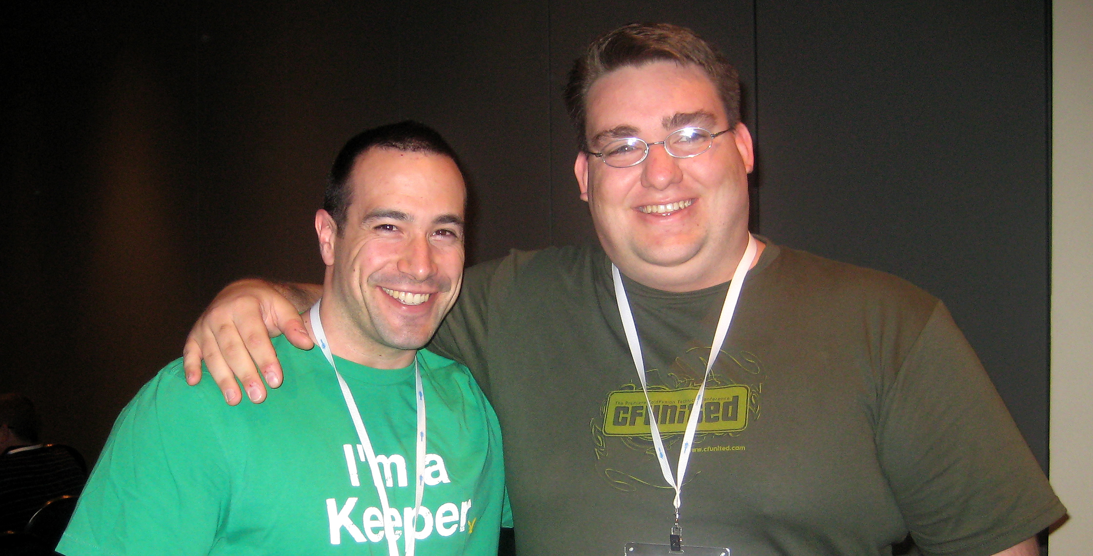 Ben Nadel at CFUNITED 2008 (Washington, D.C.) with: Ken Auenson