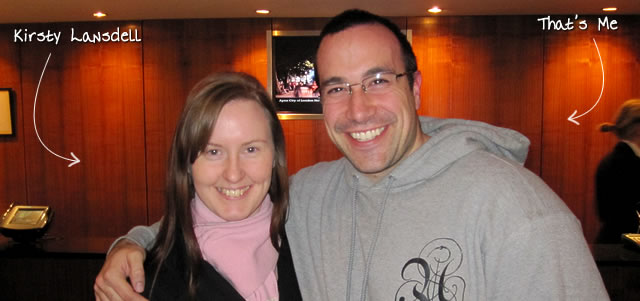 Ben Nadel at Scotch On The Rocks (SOTR) 2011 (Edinburgh) with: Kirsty Lansdell
