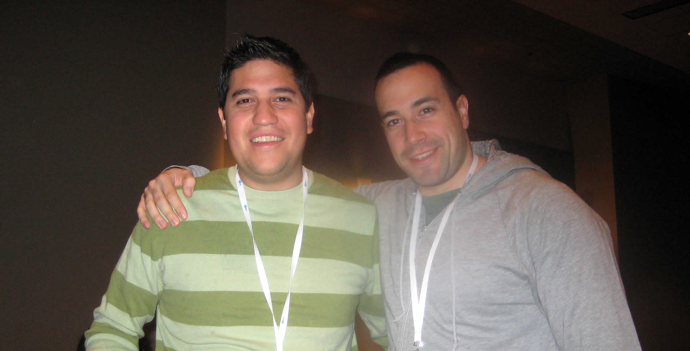 Ben Nadel at CFUNITED 2008 (Washington, D.C.) with: Luis Majano