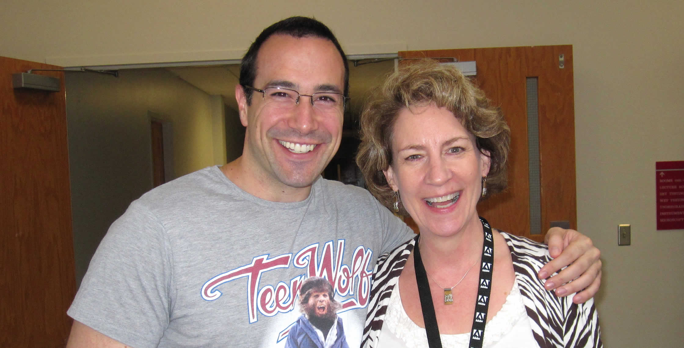 Ben Nadel at NCDevCon 2011 (Raleigh, NC) with: Lynn Ebanks