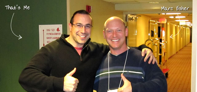 Ben Nadel at RIA Unleashed (Nov. 2010) with: Marc Esher