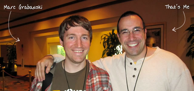 Ben Nadel at the jQuery Conference 2010 (Boston, MA) with: Marc Grabanski