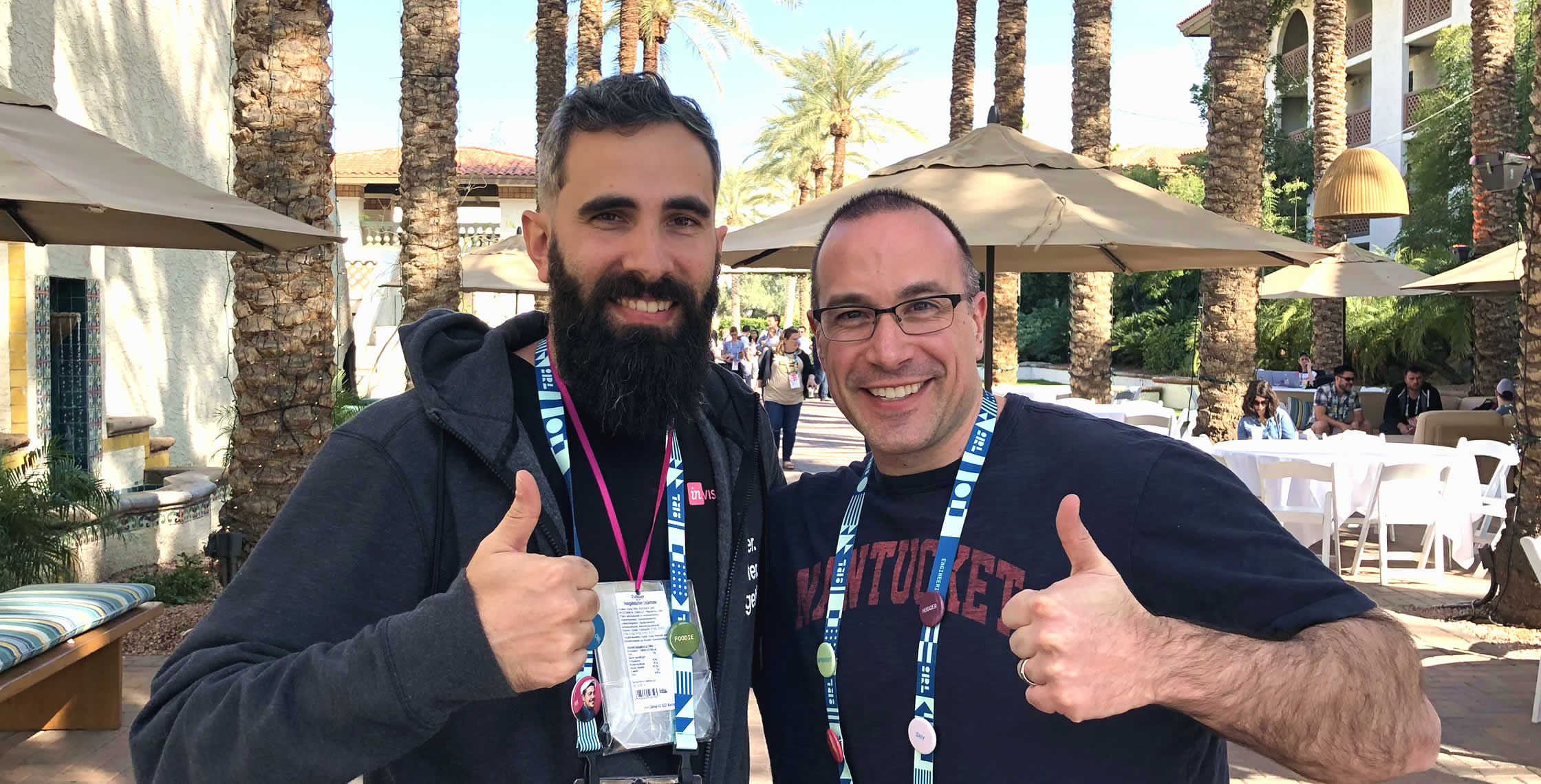 Ben Nadel at InVision In Real Life (IRL) 2019 (Phoenix, AZ) with: Matt Borgato