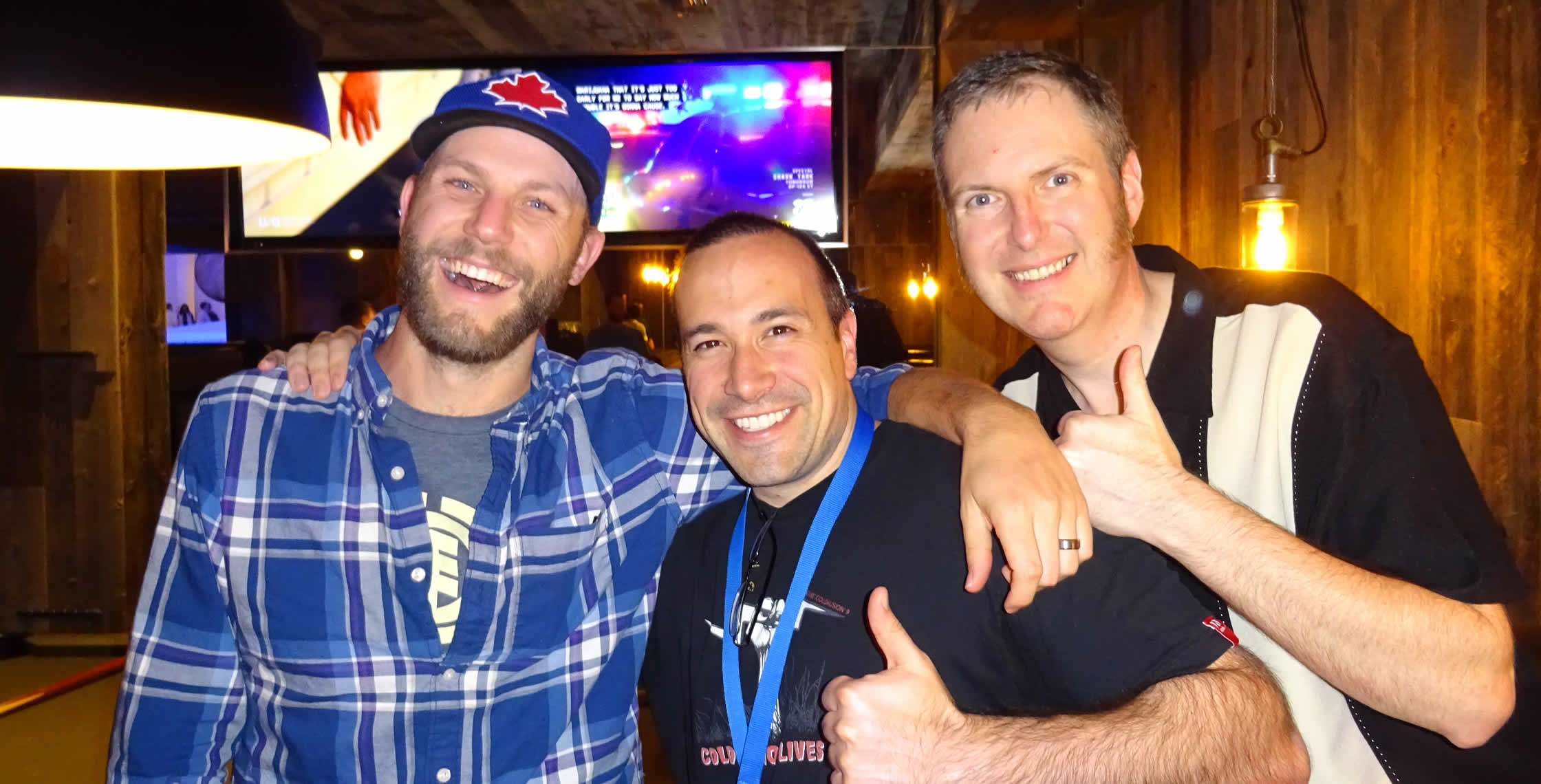 Ben Nadel at cf.Objective() 2014 (Bloomington, MN) with: Matt Vickers and Christian Ready