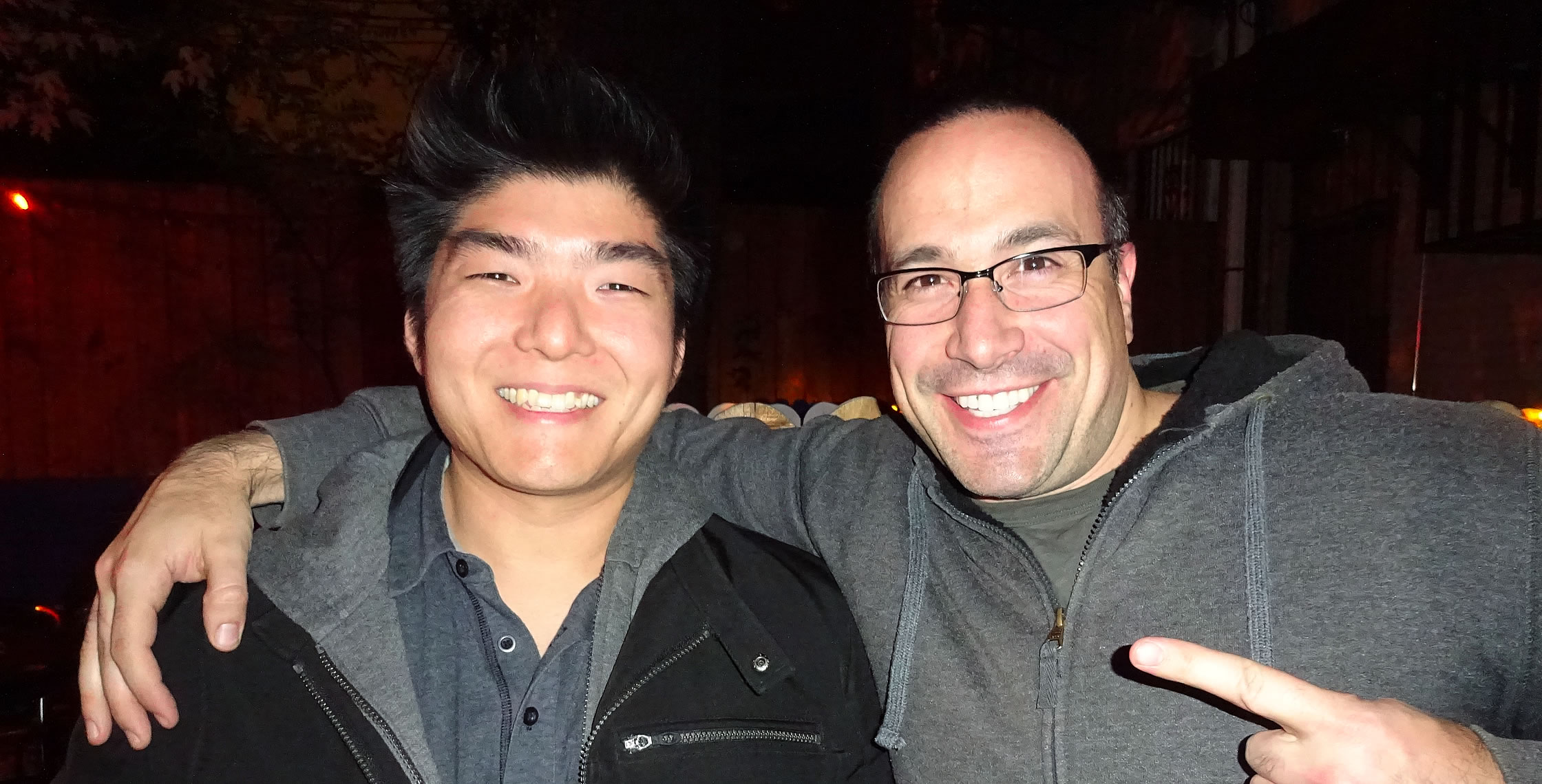 Ben Nadel at Angular 2 Master Class (New York, NY) with: Matthew Kim