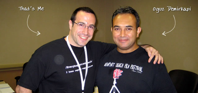 Ben Nadel at CFUNITED 2009 (Lansdowne, VA) with: Oguz Demirkapi