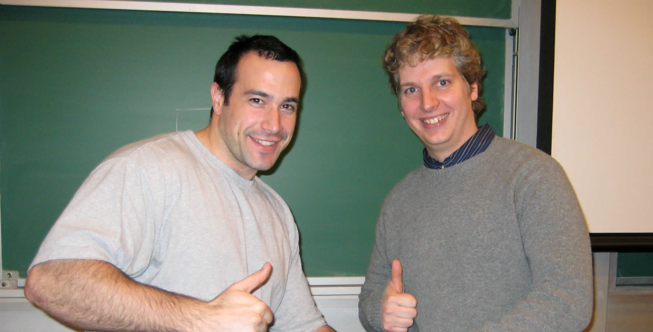 Ben Nadel at the New York ColdFusion User Group (Mar. 2008) with: Pete Freitag