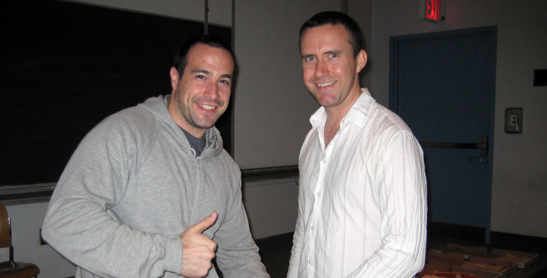 Ben Nadel at the New York ColdFusion User Group (Sep. 2008) with: Peter Bell