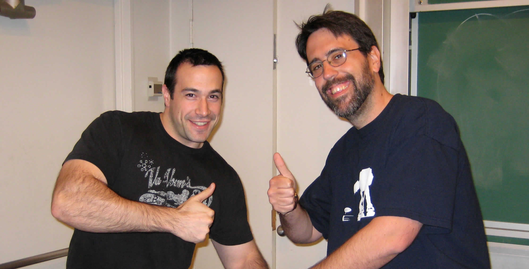 Ben Nadel at the New York ColdFusion User Group (Feb. 2008) with: Ray Camden