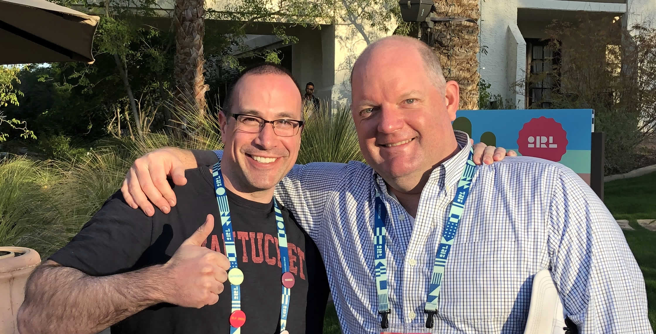 Ben Nadel at InVision In Real Life (IRL) 2019 (Phoenix, AZ) with: Rich Armstrong