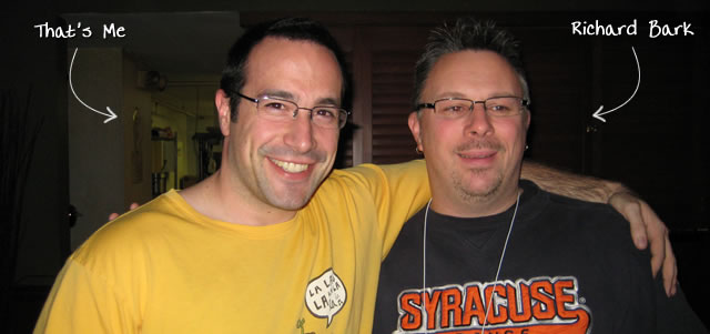 Ben Nadel at RIA Unleashed (Nov. 2009) with: Richard Bark