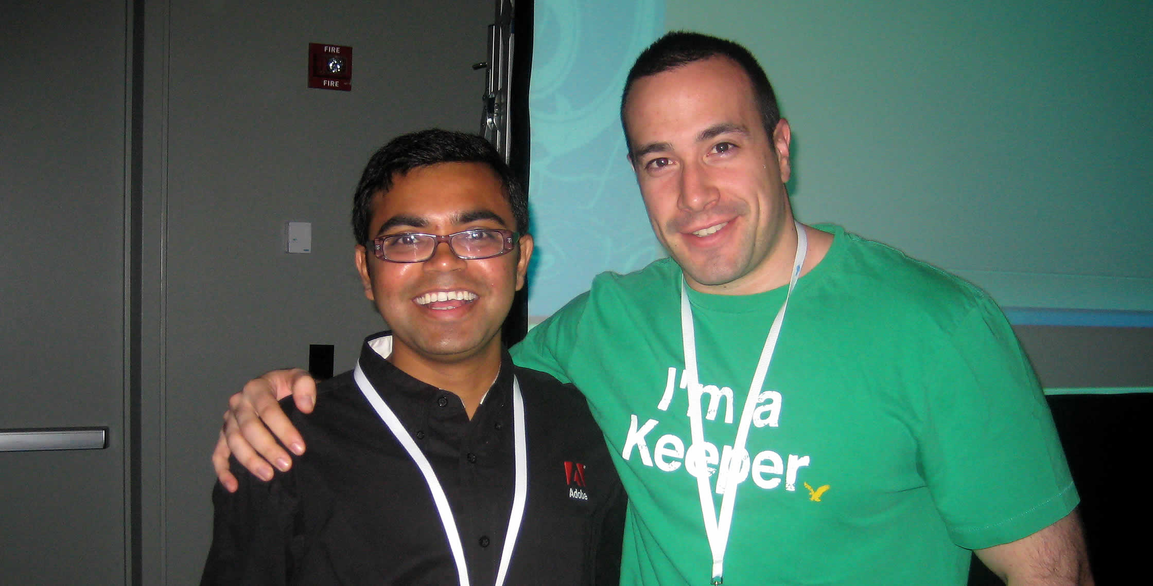 Ben Nadel at CFUNITED 2008 (Washington, D.C.) with: Rupesh Kumar