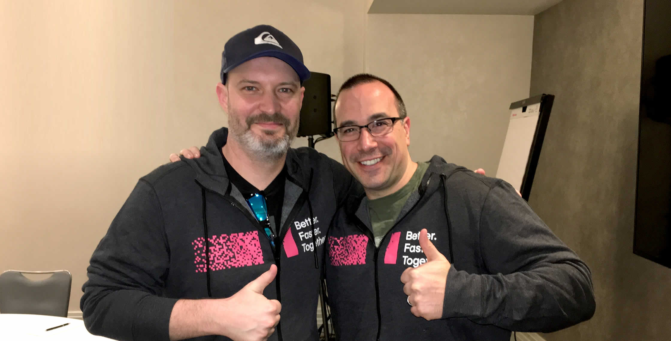 Ben Nadel at InVision In Real Life (IRL) 2018 (Hollywood, CA) with: Scott Van Hess