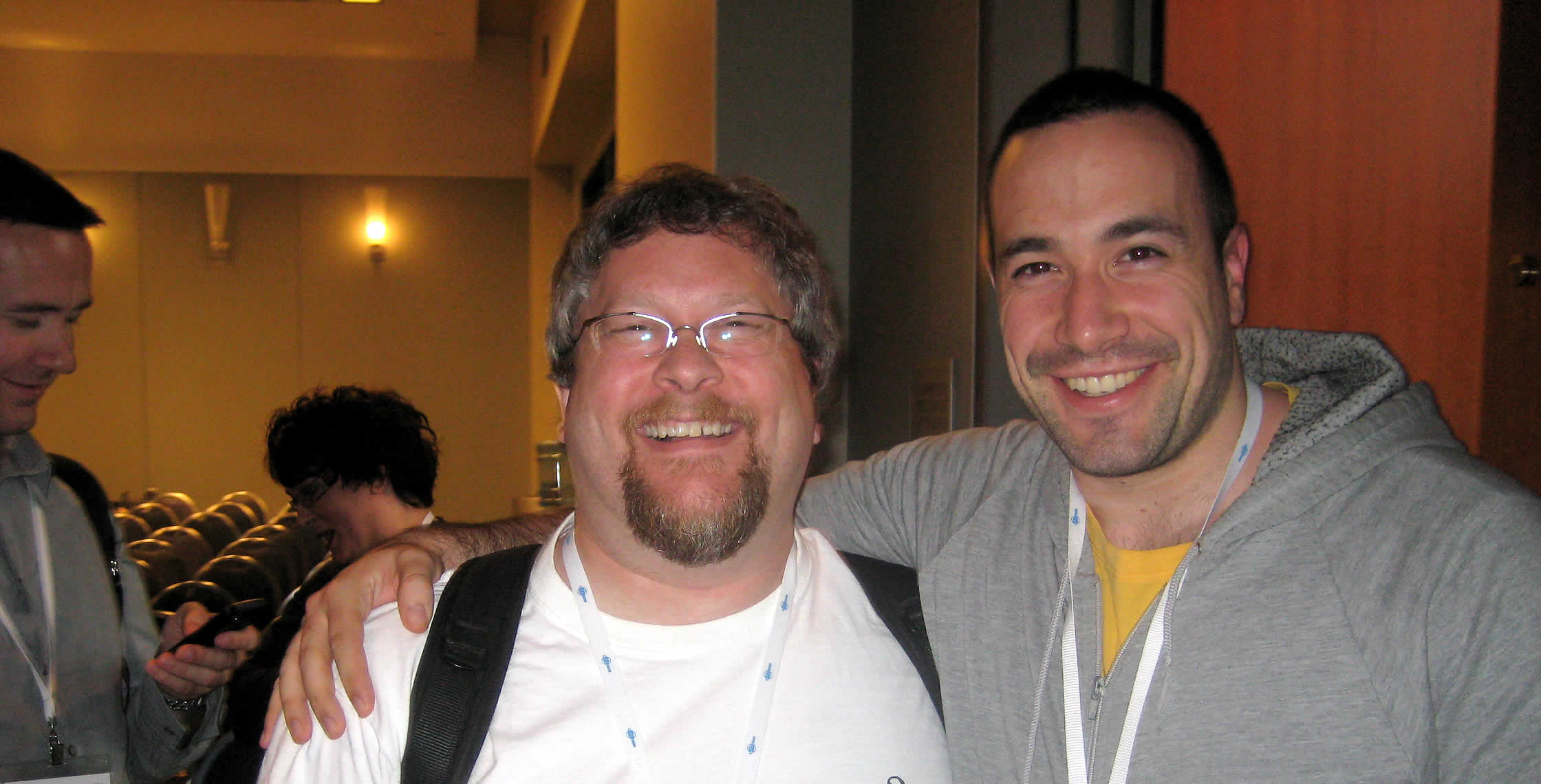 Ben Nadel at CFUNITED 2008 (Washington, D.C.) with: Sean Corfield
