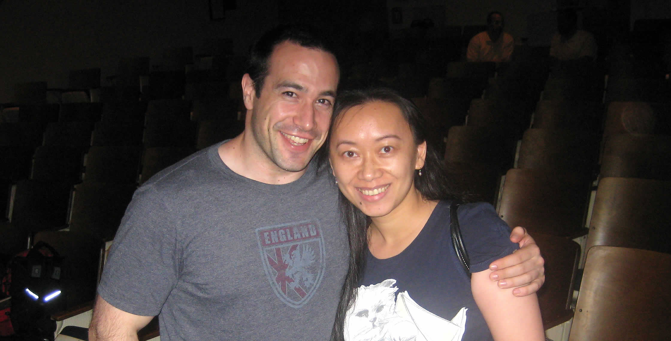 Ben Nadel at the New York ColdFusion User Group (Jun. 2008) with: Ye Wang