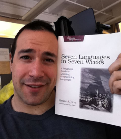 Ben Nadel After Reading Seven Languages In Seven Weeks!