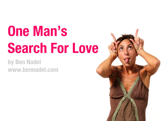 One Man's Search For Love - Ben Nadel's cf.Objective() Lightning Talk.