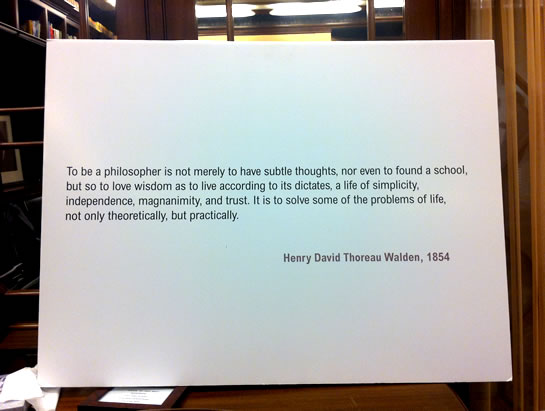 Philosophy Works: Hendy David Thoreau Walden.