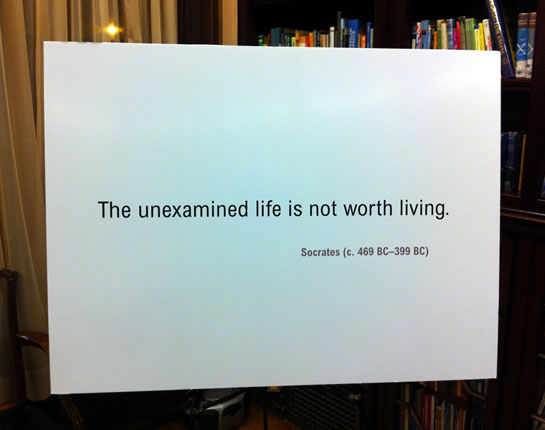 essay on the unexamined life The unexamined life when socrates was found guilty in 399 bc after being found guilty of corrupting the youth, he responded with a very meaningful speech.
