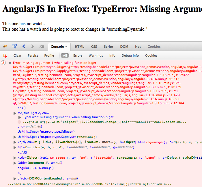 Firefox type-error with AngularJS.