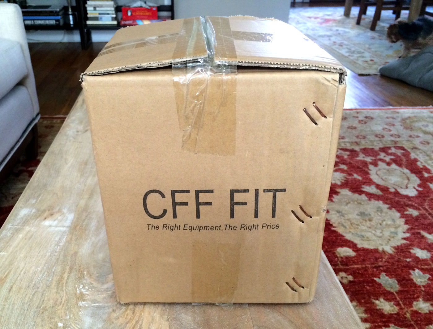 Home gym - cff fit landmine series.
