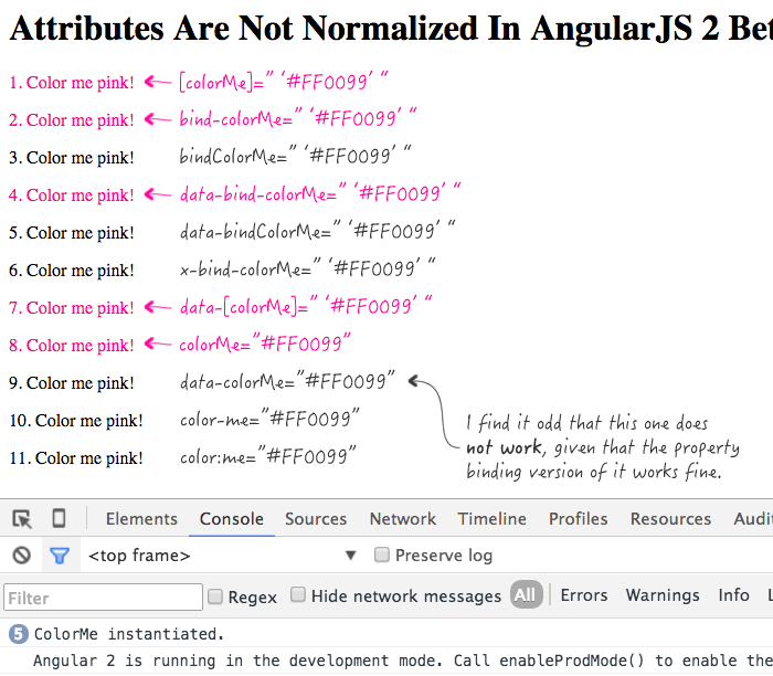 Attribute normalization in AngularJS 2 Beta 1.