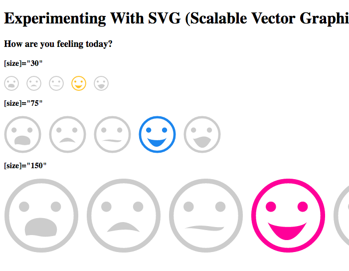 Experimenting with SVG in Angular 2.