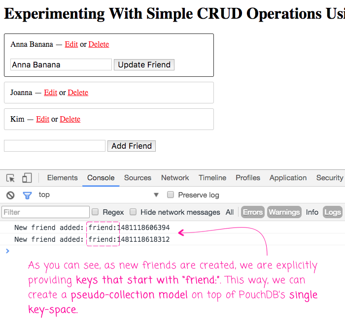 Experimenting With Simple CRUD Operations Using PouchDB In Angular 2 1 1