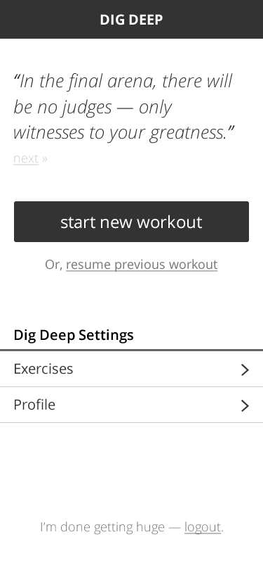 PouchDB Data Modeling For My Dig Deep Fitness Offline First Mobile