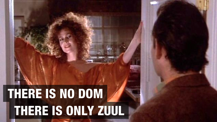 There is no DOM, only Zuul.