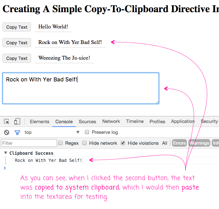 Creating a copy-to-clipboard directive in Angular 2.