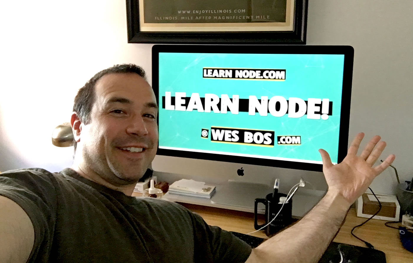 Learn Node video course by Wes Bos, review by Ben Nadel.